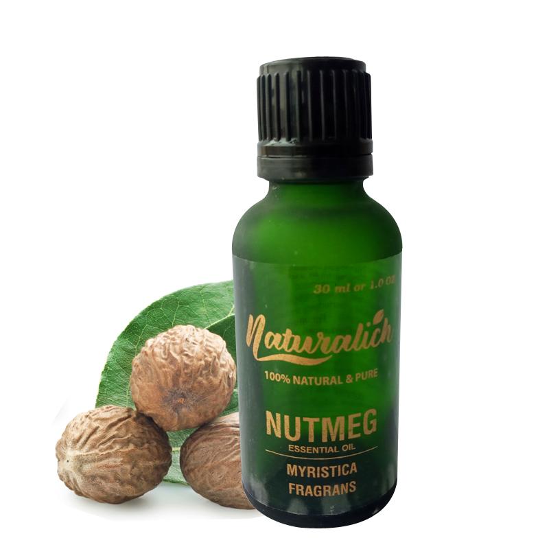 Naturalich Nutmeg Essential Oil 100 % Pure & Natural