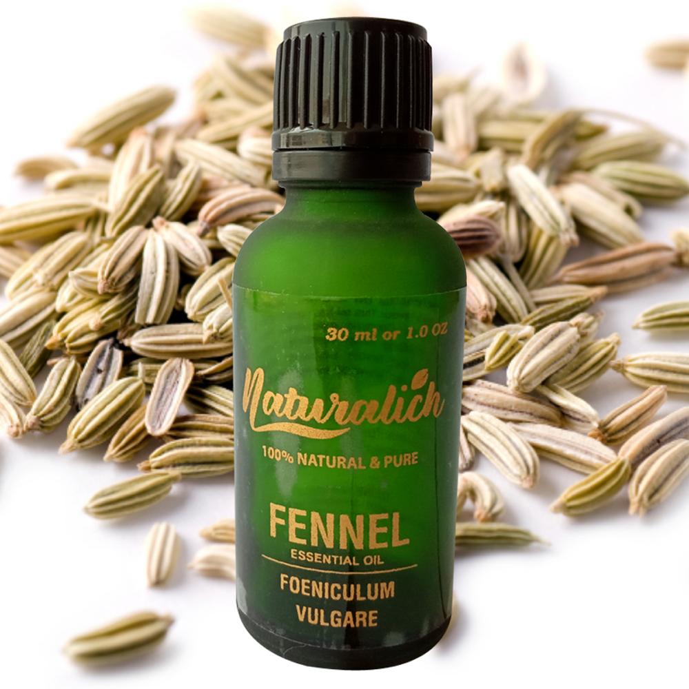 Naturalich Fennel Essential Oil 100 % Pure & Natural