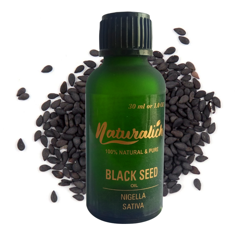 Naturalich Black Seed Oil 100 % Pure & Natural