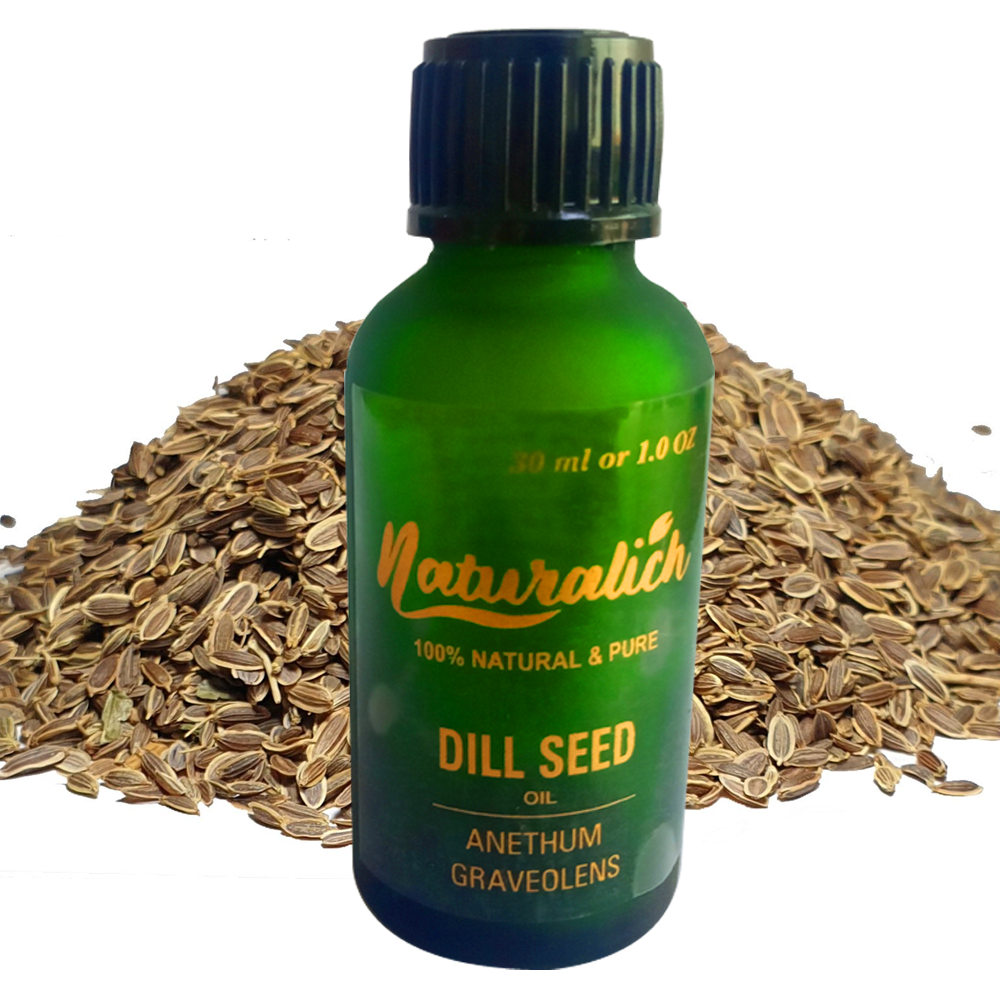 Naturalich Dill Seed Oil 100 % Pure & Natural