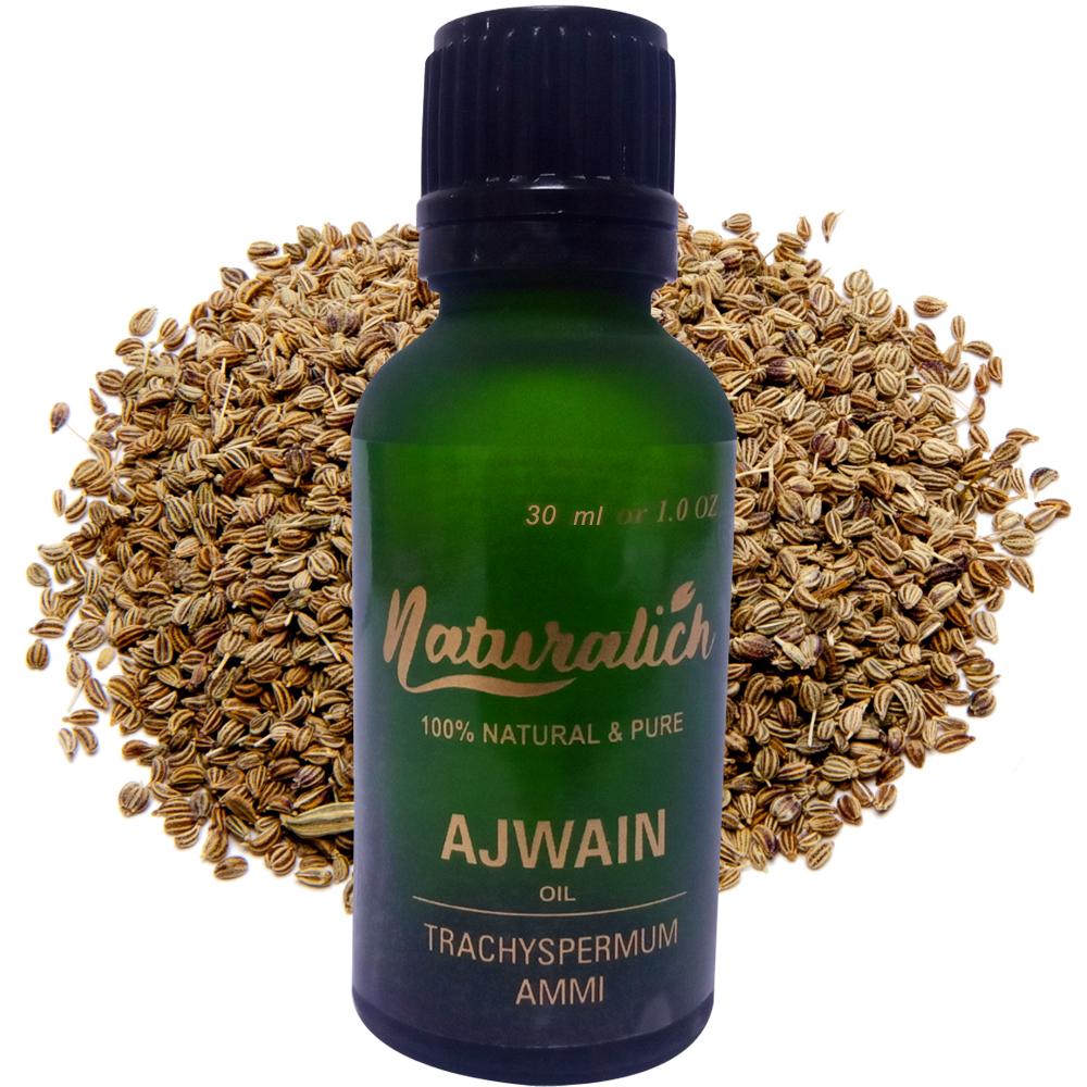 Naturalich Ajwain Oil 100 % Pure & Natural