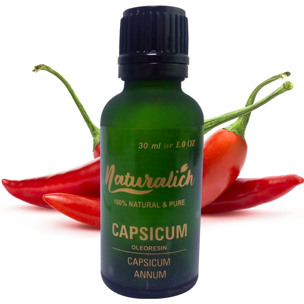 Naturalich Capsicum Oleoresin 100 % Pure & Natural