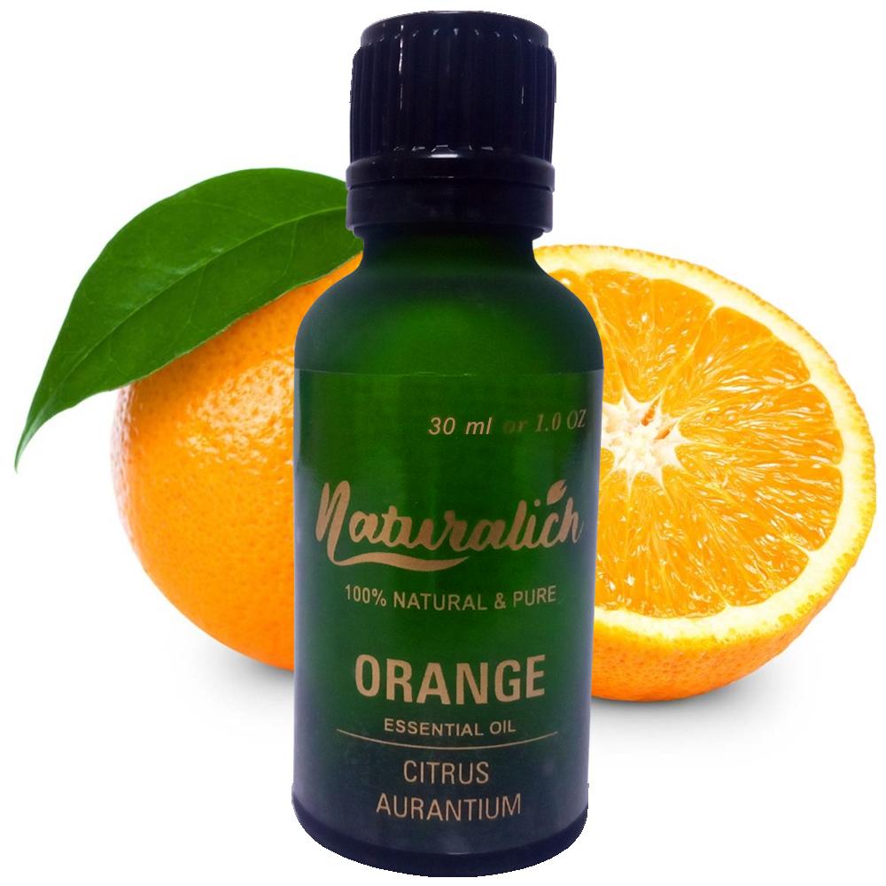 Naturalich Orange Essential Oil 100 % Pure & Natural