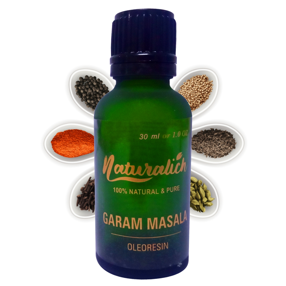 Pure & Natural Garam Masala Oleoresin - Naturalich India