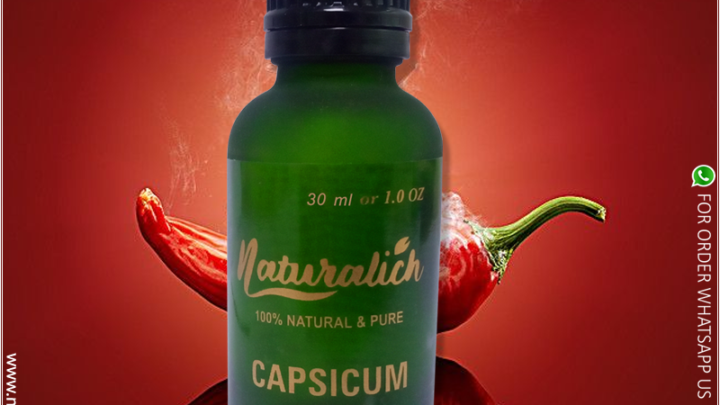 Naturalich Capsicum Oleoresin 100 % Pure & Natural 30 ml