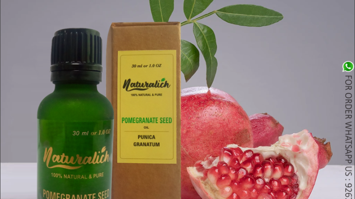 Naturalich Pure Pomegranate Oil (Punica granatum)