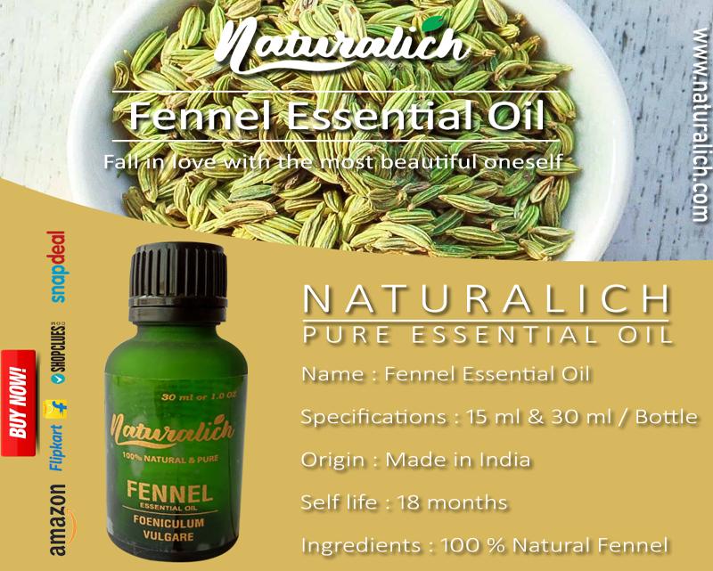 Naturalich Fennel Essential Oil