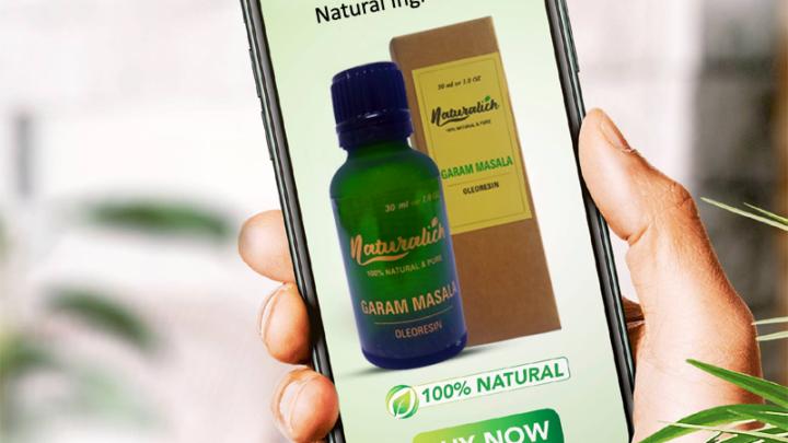 Garam Masala Oleoresin - Naturalich - Pure and Natural