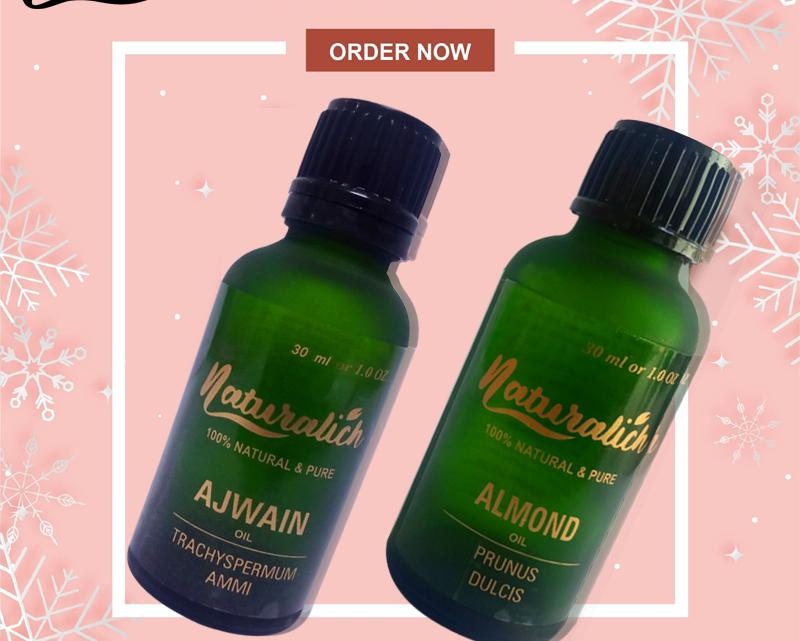 Buy Now Almond Oil 30 ML, Ajwain Oil 30 ML