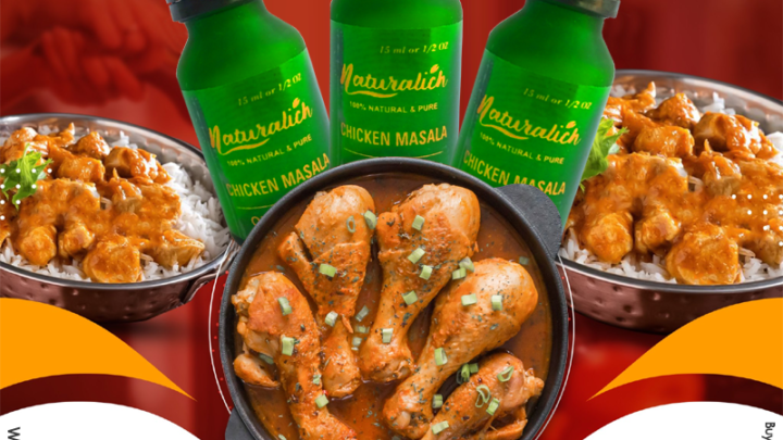 Naturalich Chicken Masala, 15 ML, Pure Chicken Masala Oleoresin