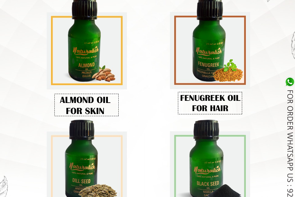 Buy Now Naturalich Oil 100 % Pure & Natural