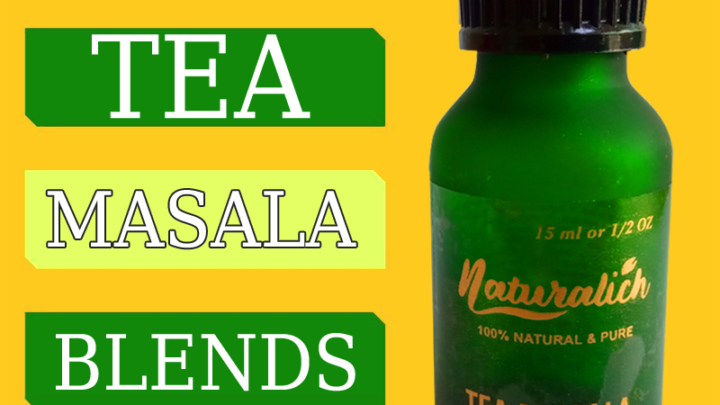 Naturalich Tea - Masala Chai with 100 % Natural Spices - [15 ML]