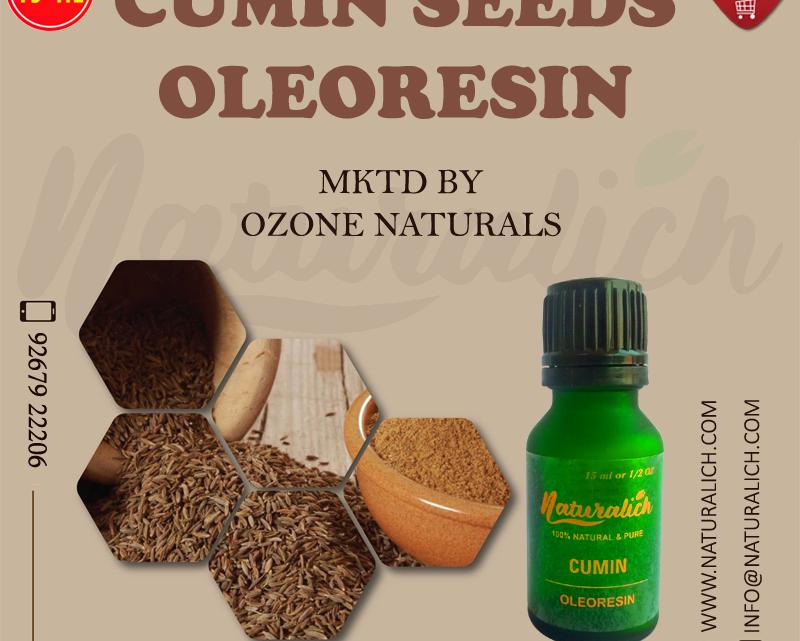 Naturalich Cumin Seed | Jeera Oleoresin 15 ML
