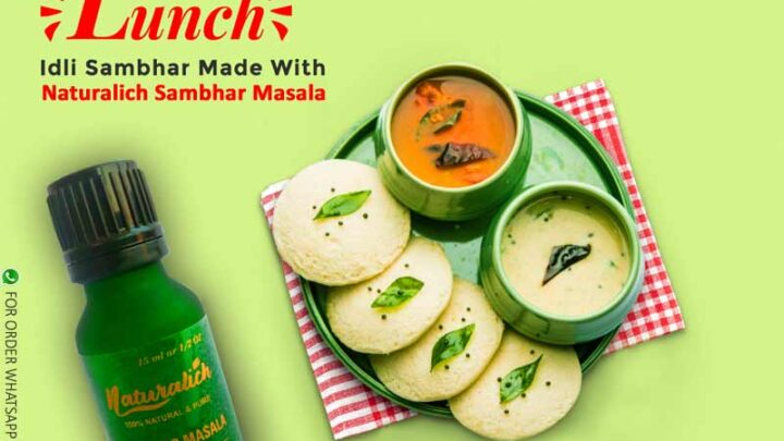 Naturalich Co2 Extract Sambhar Masala Oleoresin 15 ML - 100 % Pure & Natural