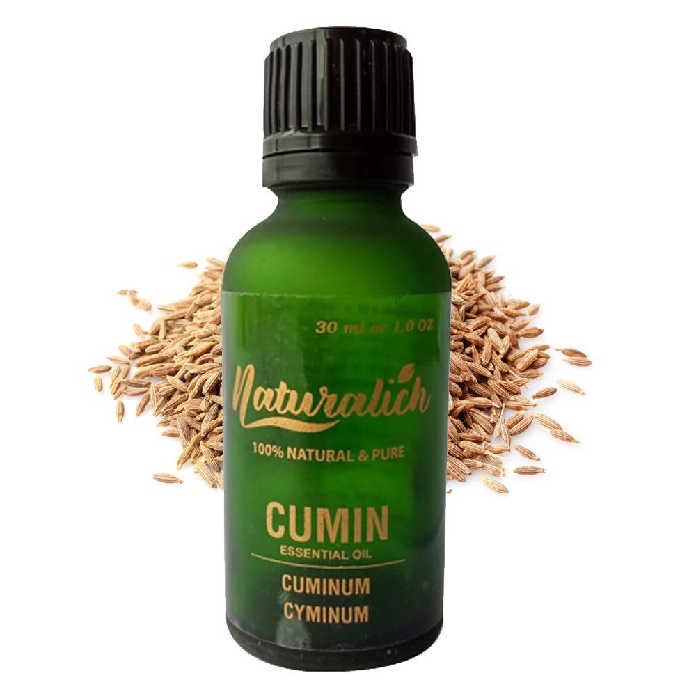 Naturalich Cumin Essential Oil 100 % Pure & Natural