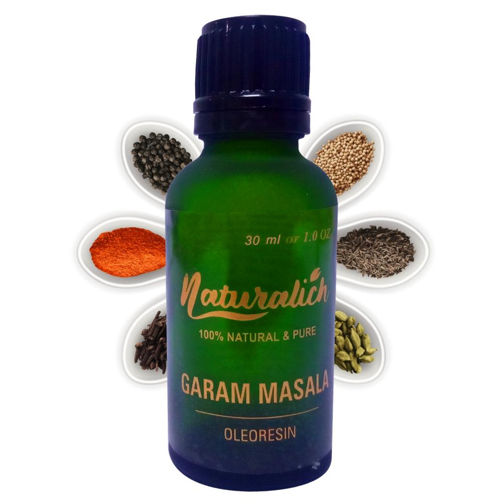 Pure & Natural Garam Masala Oleoresin - Naturalich India