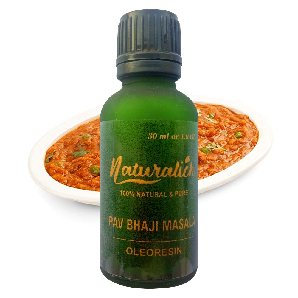 Naturalich Pav Bhaji Masala Oleoresin 30 ML Supplier from India