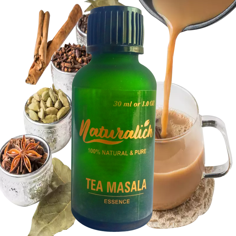 Pure and Natural Tea Masala Essence - Naturalich India