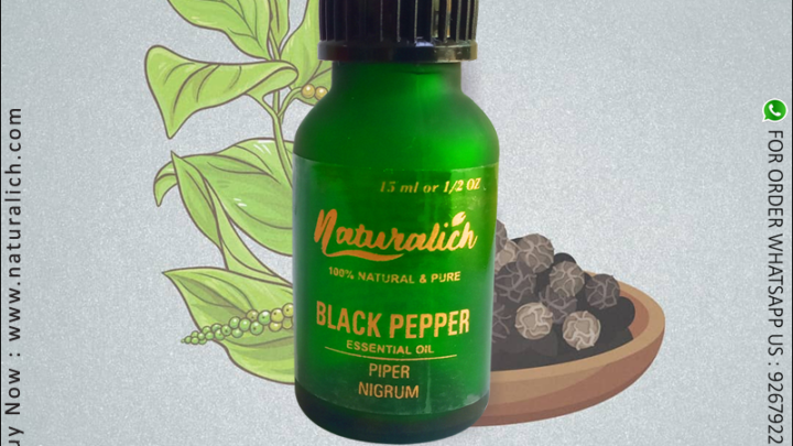 Steam Distillation Black Pepper Oil