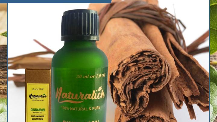 Naturalich Cinnamon Essential Oil