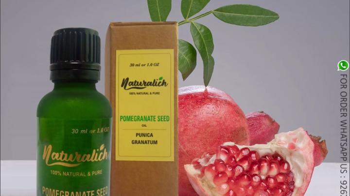 Naturalich Pure Pomegranate Oil (Punica granatum)
