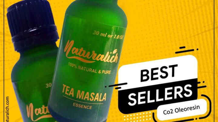 Co2 Extracted Tea and Garam Masala Oleoresin