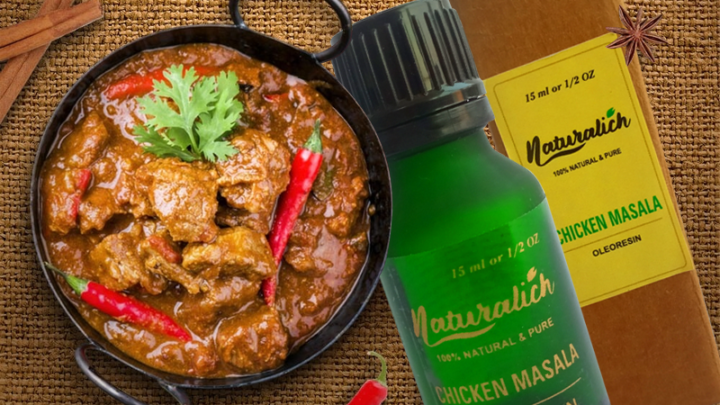 Naturalich Chicken Masala Oleoresin | Premium Spices Blend | 100 % Pure and Natural