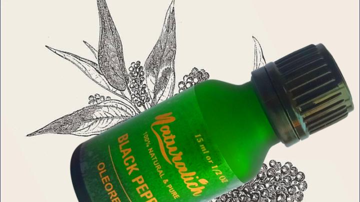 Naturalich Black Pepper Oleoresin Oil 15 mL