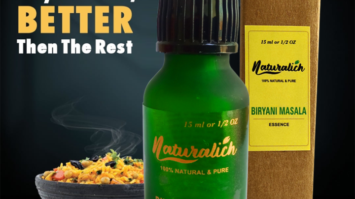 Naturalich Biryani Cooking Masala Oleoresin 15 ML, Ready to Cook Spice Mix, Easy to Cook Masala Mix