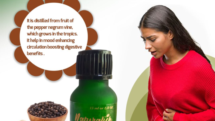 Buy Naturalich Black Pepper Essential Oil - 100% Pure Natural & Undiluted For Skin care & Hair (15ML) online at low price in India