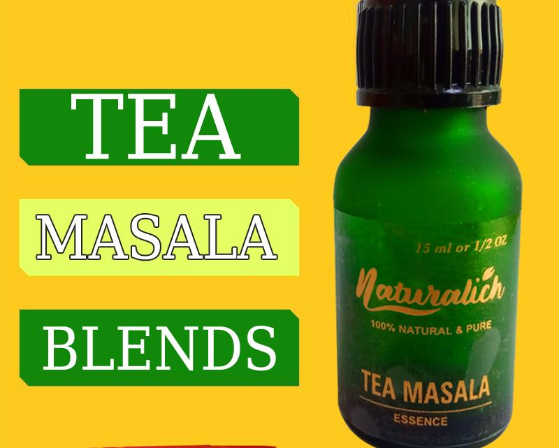 Naturalich Tea - Masala Chai with 100 % Natural Spices - [15 ML]