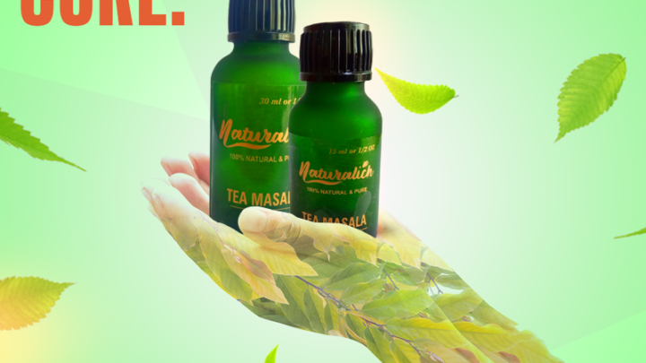 Naturalich Chai Masala Blend for Tea , 15 ML, 30 ML, I Immunity Booster I Helps in Cold and Cough | Chai Masala Essence